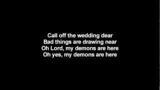 Lordi - Call Off The Wedding   Lyrics on screen   HD