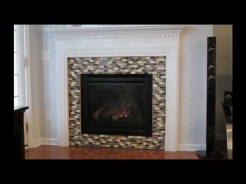 Fireplace Tiling - YouTube