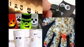 Manualidades Faciles para Halloween 2018 / Halloween Crafts