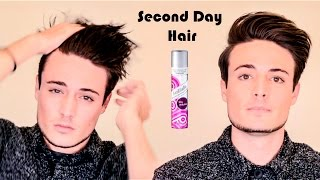 Hair How-To | Styling Second Day Hair - The Magic of Dry Shampoo