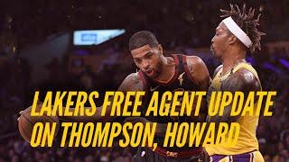 Lakers Free Agent Update- <b>Tristan Thompson</b> & Dwight Howard ...
