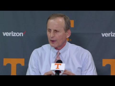 Vols vs Auburn: Rick Barnes Postgame (1.2.18)