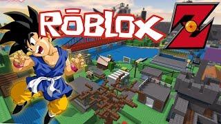 ROBLOX Z EN DIRECTO - DRAGON BALL Z EN ROBLOX!!