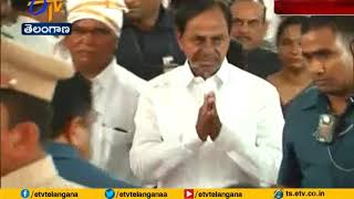 CM KCR Attends | Minister Niranjan Reddy Mother Ritual Event | at Wanaparthy
