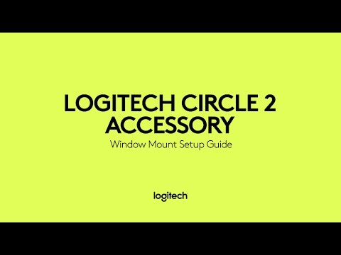 How to set up your Logitech Circle 2 Window Mount