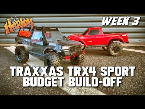 Traxxas TRX-4 Sport Kit Budget Build-Off - Week 3