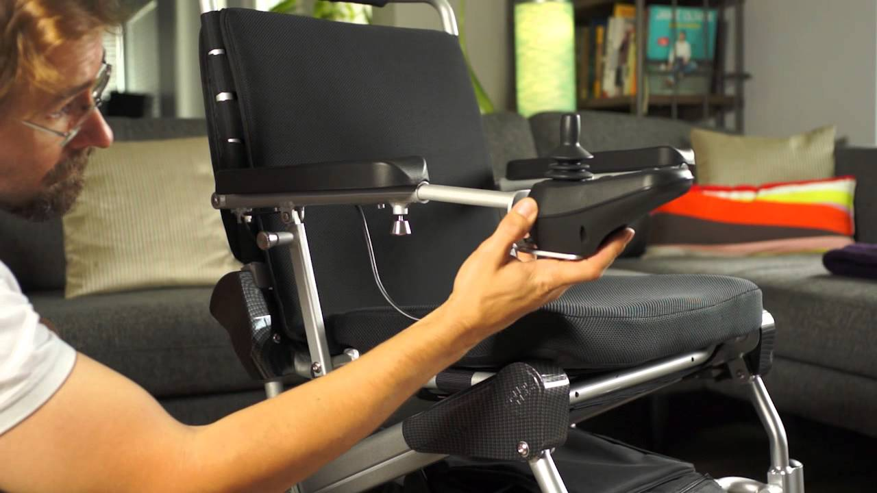 office chair joystick mount trex rocking cushions mounting the on ez lite cruiser deluxe model youtube