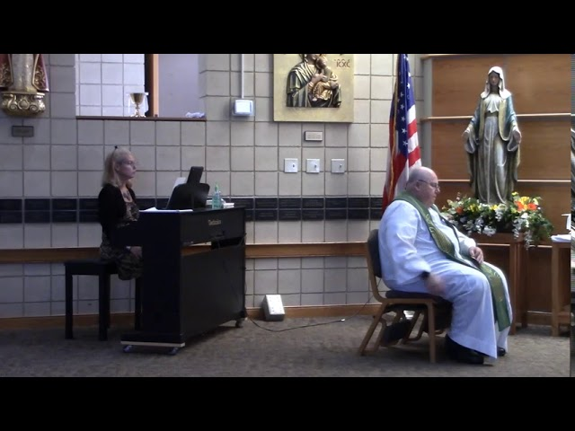 2020 September 19 - Vigil Mass Celebrated at Holy Family Parish in beautiful Parma, Ohio
