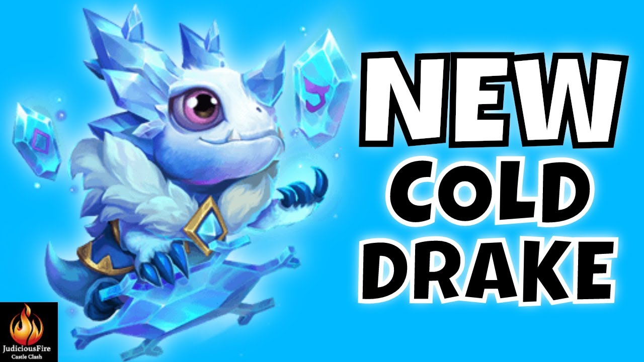 New Pet Cold Drake Castle Clash Youtube