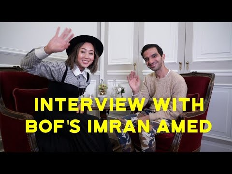Interview w/ Imran Amed from The Business of Fashion | Aimee Song