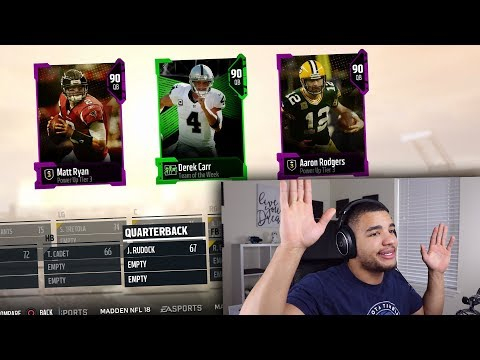 FANTASY FOOTBALL POINTS LEADERS DRAFT! MADDEN 18 DRAFT CHAMPIONS