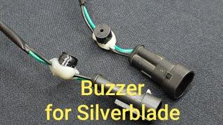 Silverblade 250 EFI. Buzzer for turn signal.