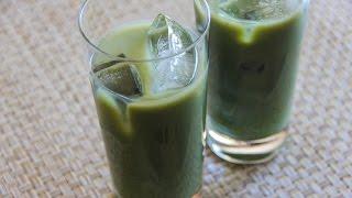 Iced Matcha Latte Recipe - Japanese Cooking 101