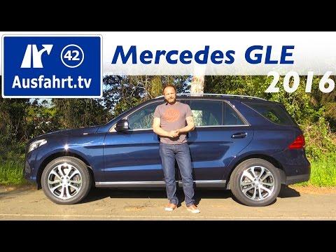 Bild: Mercedes-Benz GLE 250 d 2016 - ein Fahrbericht der Probefahrt