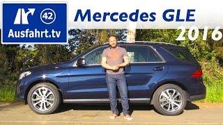 2016 Mercedes-Benz GLE 250 d (W166) - Fahrbericht der Probefahrt, Test, Review Ausfahrt.tv