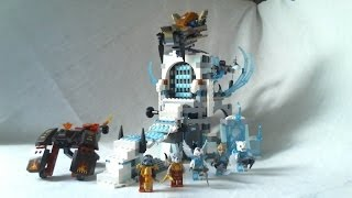 Lego Legends Of Chima Video Review : Sir Fangar's Ice Fortress [français]