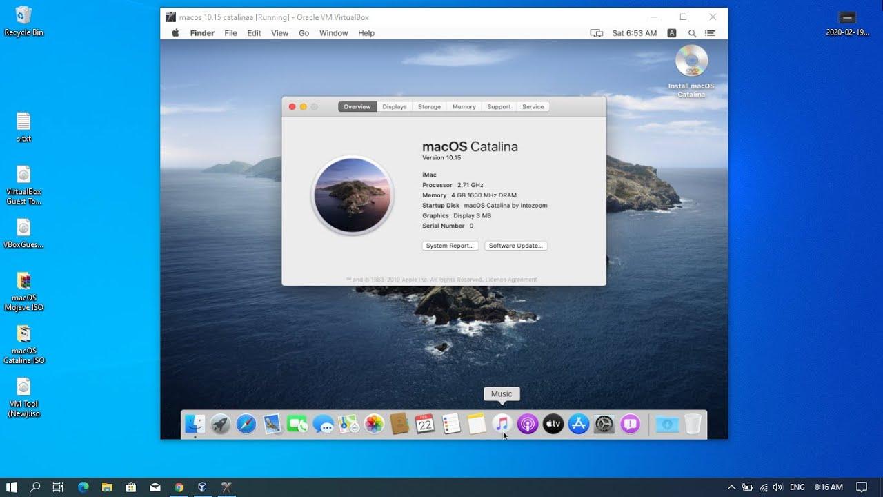 mac os iso image free download for virtualbox