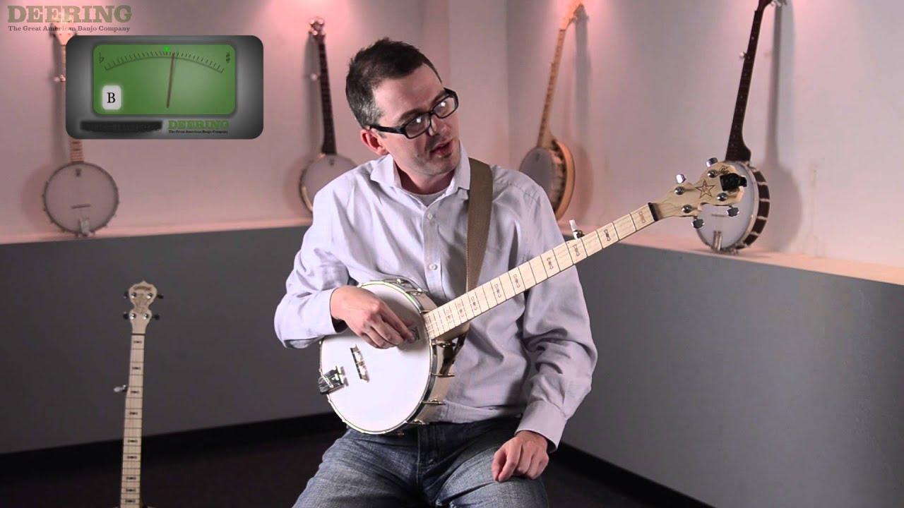 Beginning 5-String Banjo - Pt  2 - Tuning the 5-String Banjo