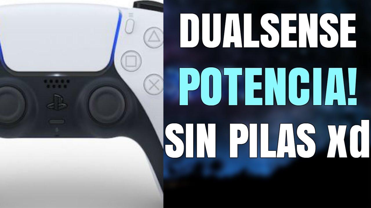 PLAYSTATION 5:  DUALSENSE CON MAYOR POTENCIA QUE DUALSHOCK 4 | Y SIN PILAS