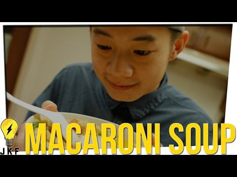 Cooking with JK: Brandon's Macaroni Soup