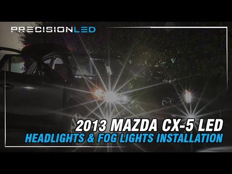 Mazda CX-5 LED Headlights & Fog lights How To Install – 2013-Present