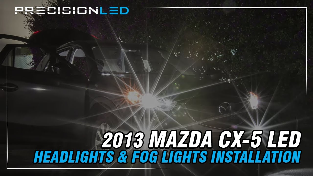mazda cx 5 led headlights how to install 2013 present youtube mazda 5 fog light wiring diagram [ 1280 x 720 Pixel ]