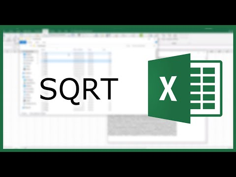 Excel SQRT Function: Find The Square Root Of A Value | Excel In Minutes