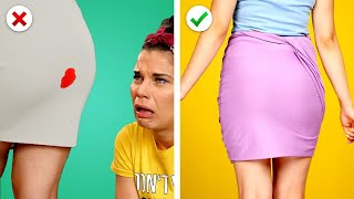 9 Smart Clothing Ideas! DIY Fashion Hacks and Crafts