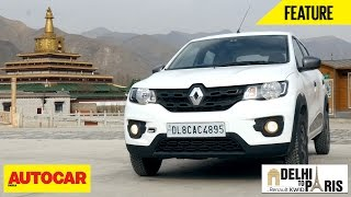 #KwidDrive2Paris | Webisode 04 | Curious About The Kwid | Autocar India