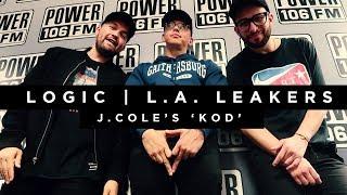 Logic Interprets J. Cole's 'KOD' | LA Leakers