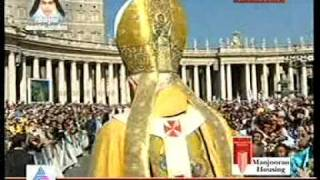 ST.ALPHONSA CANONIZATION MALAYALAM SONG IN VATICAN