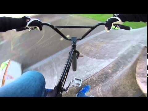BMX 360 Footplant Over Volcano