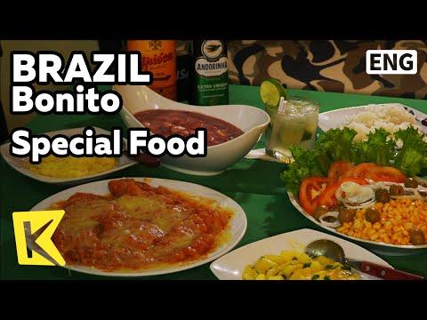 【K】Brazil Travel-Bonito[브라질 여행-보니토]보니토의 특별한 음식/Alligator meat/Ostrich meat/Food