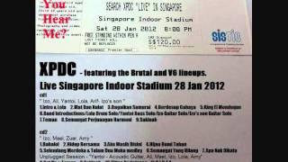 12 Aku Masih Di Sini - XPDC live Singapore 28 Jan 2012 ( audio bootleg )