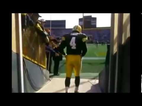 Brett Favre   NFL Football Documentary