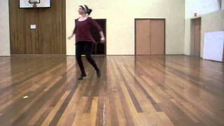 ISTD advanced 1 tap - Blues slow dance sequence