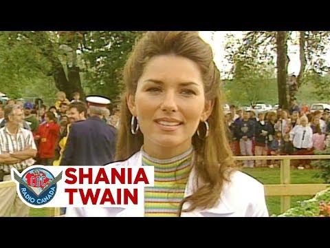 Shania Twain goes home to Timmins, 1996