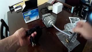 EcoPlus 793 GPH (3000 LPH, 18W) Commercial Air Pump (quick test)