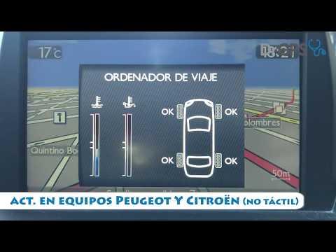 Actualización Peugeot Citroen Gps (No Táctil) + Fotomultas + Audio HD