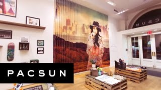 PacSun NYC Pop-Up Shop Time-Lapse | PacSun