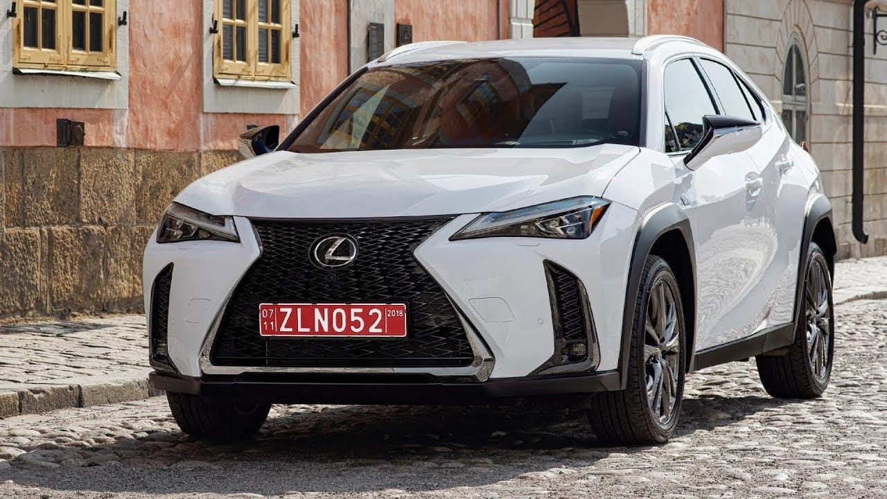 2019 lexus ux 250h f sport sonic white exterior interior