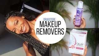 UNDER $10 Drugstore Makeup Removers that ACTUALLY WORK! + Demo | Annesha Adams