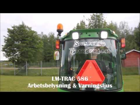 Alsike-Maskin LM TRAC 586 Arbetsbelysning & Varningsljus