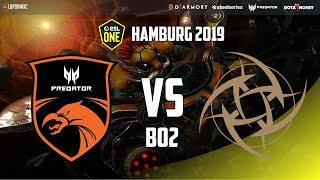 TNC Predator vs Ninjas in Pyjamas Game 2 (Bo2)   ESL One Hamburg 2019 Group Stage