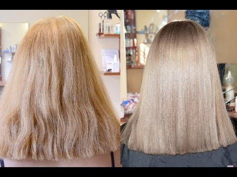 Как покрасить волосы блондинке красиво