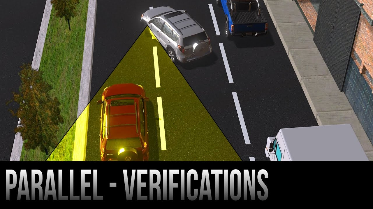 Parallel Parking Verificationssafety Steps Youtube