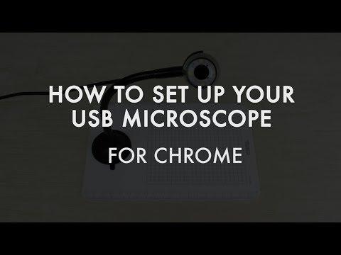 How To Use Plugable's USB Digital Microscope - Chrome OS
