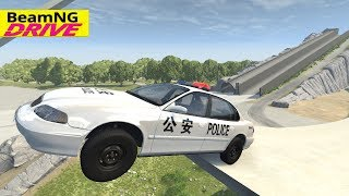 High Speed Jumps  Crashes 104   BeamNG Drive Crash Testing