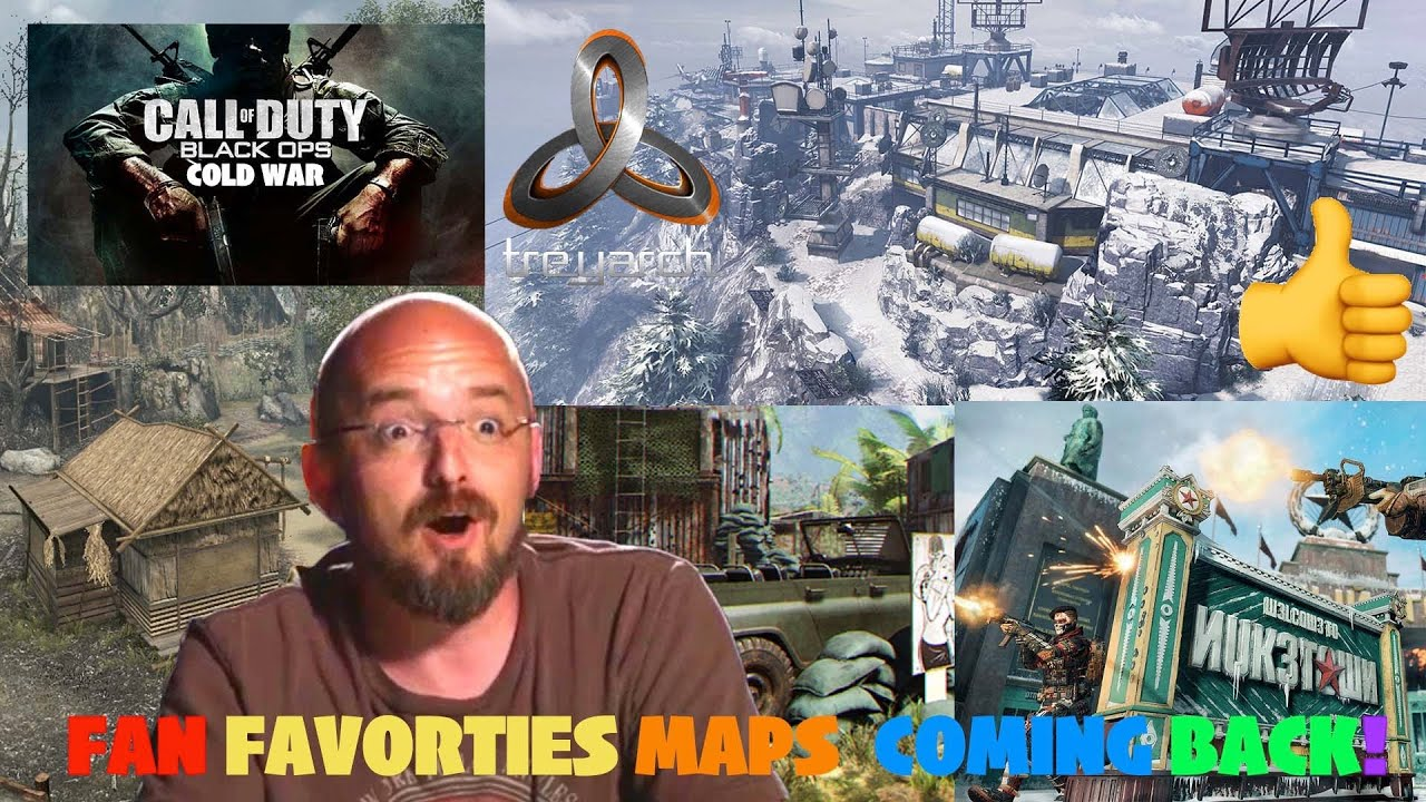 CALL OF DUTY BLACK OPS COLD WAR THE 1st 4 CONFIRMED MAPS ...