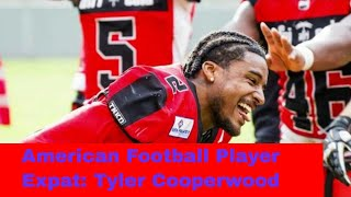 American football player in Germany Tyler Cooperwood